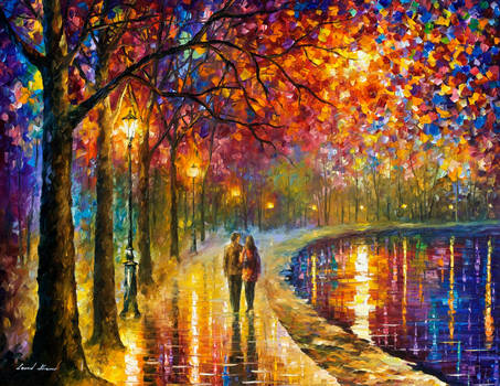 Spirits By The Lake by Leonid Afremov