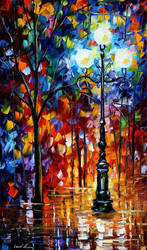 Light In The Alley by Leonid Afremov