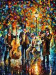 Glowing Music by Leonid Afremov