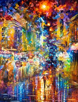 The Colors Of Paris by Leonid Afremov