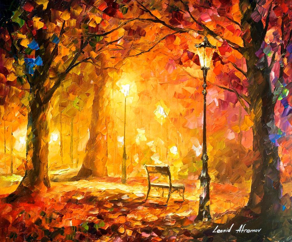 Twinkle of passion by Leonid Afremov by Leonidafremov