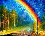 Rainbow by Leonid Afremov