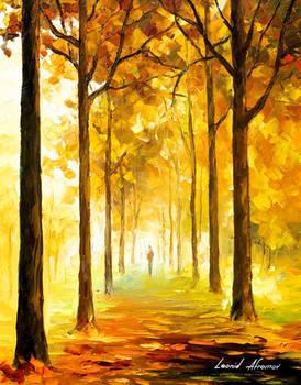 Yellow Mood by Leonid Afremov