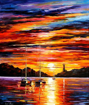 By The Entrance by Leonid Afremov