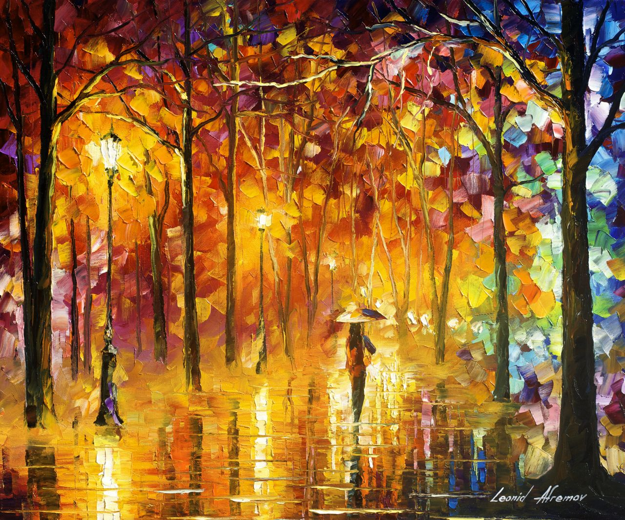 Signals Of Love by Leonid Afremov