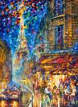 Paris - Recruitement Cafe by Leonid Afremov