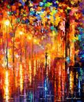 Dreaming rain by Leonid Afremov