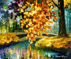 A day of feelings oil painting by Leonid Afremov