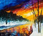 Winter emotion by Leonid Afremov