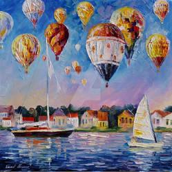 Festival Of Joy by Leonid Afremov