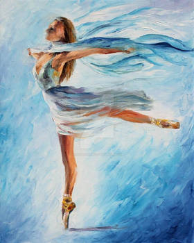THE SKY DANCE by Leonid Afremov