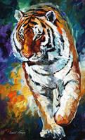 BENGAL TIGER by Leonid Afremov