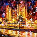 Tropical City by Leonid Afremov