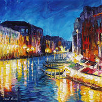 Venice In Color by Leonid Afremov by Leonidafremov