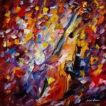 Old Violin by Leonid Afremov