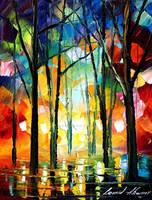 Glows by Leond Afremov by Leonidafremov