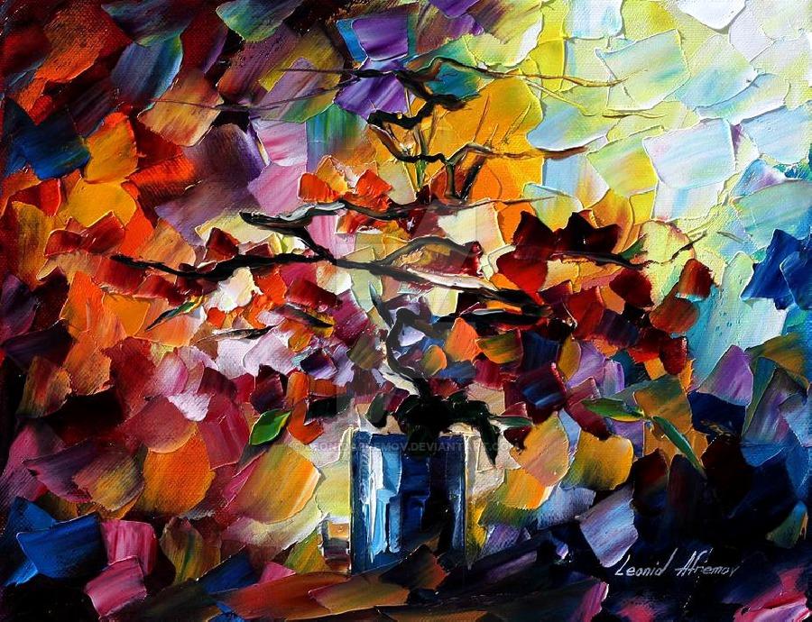 Charm by Leonid Afremov by Leonidafremov