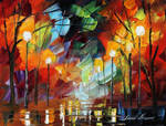 Crazy Mood by LEonid Afremov