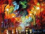 Crazy Mood by LEonid Afremov