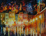 Home coming by Leonid Afremov