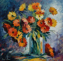 Love Irradiation by Leonid Afremov by Leonidafremov