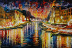 Venice Grand Canal by Leonid Afremov