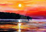 Sunset melody 2 by Leonid Afremov