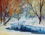 Winter 3 by Leonid Afremov
