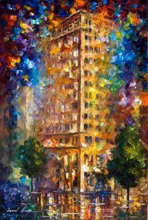Ambassador Building by Leonid Afremov