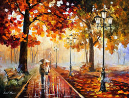 The Stroll Of Infinity by Leonid Afremov by Leonidafremov