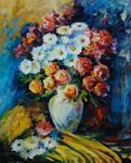 Night Bouquet by Leonid Afremov