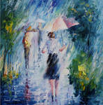 Long Rain by Leonid Afremov