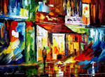 The song of the city by Leonid Afremov