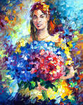 Flowers From Colombia by Leonid Afremov