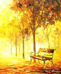 Autumn Vacation by Leonid Afremov