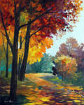 Touch Of The Fall by Leonid Afremov