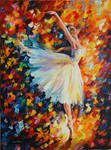 Ballet with Magic by Leonid Afremov