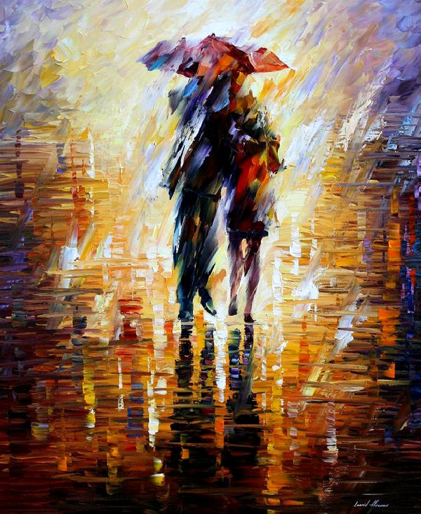 Together In The Storm by Leonid Afremov