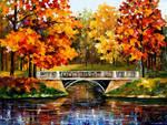 Fall Blinks by Leonid Afremov