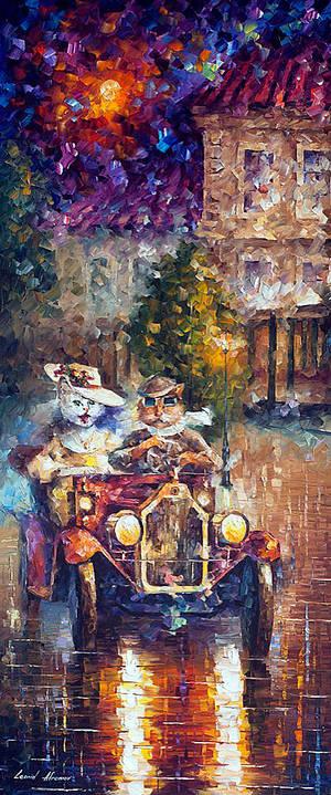 Newlyweds by Leonid Afremov