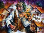 Fiddler On The Roof by Leonid Afremov