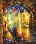 Old Town 2 by Leonid Afremov