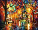 Colorful Night by Leonid Afremov