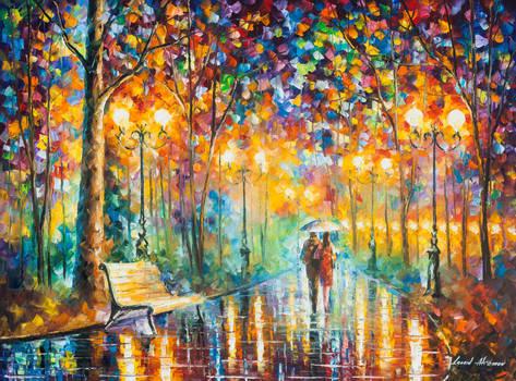 Rain's Rustle 3 by Leonid Afremov