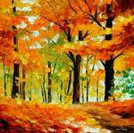 Fall Mood by Leonid Afremov