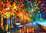 Evening Way To Home by Leonid Afremov