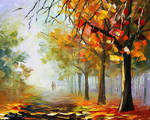 Autumn's Touch by Leonid Afremov