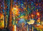 Daring Night by Leonid Afremov