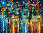 Rain Full of Surprises by Leonid Afremov
