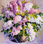 Violet Peace by Leonid Afremov